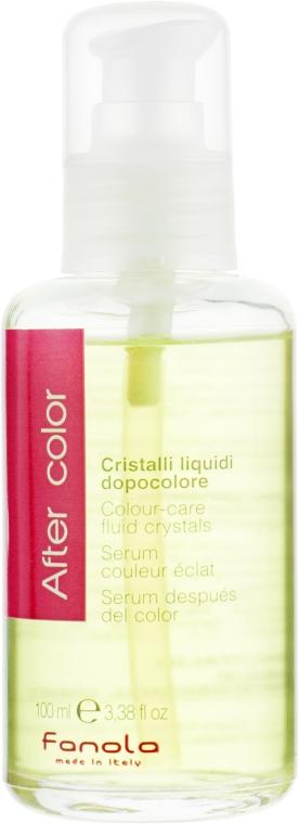Жидкие кристаллы для окрашенных волос - Fanola Colour-Care Fluid Crystal