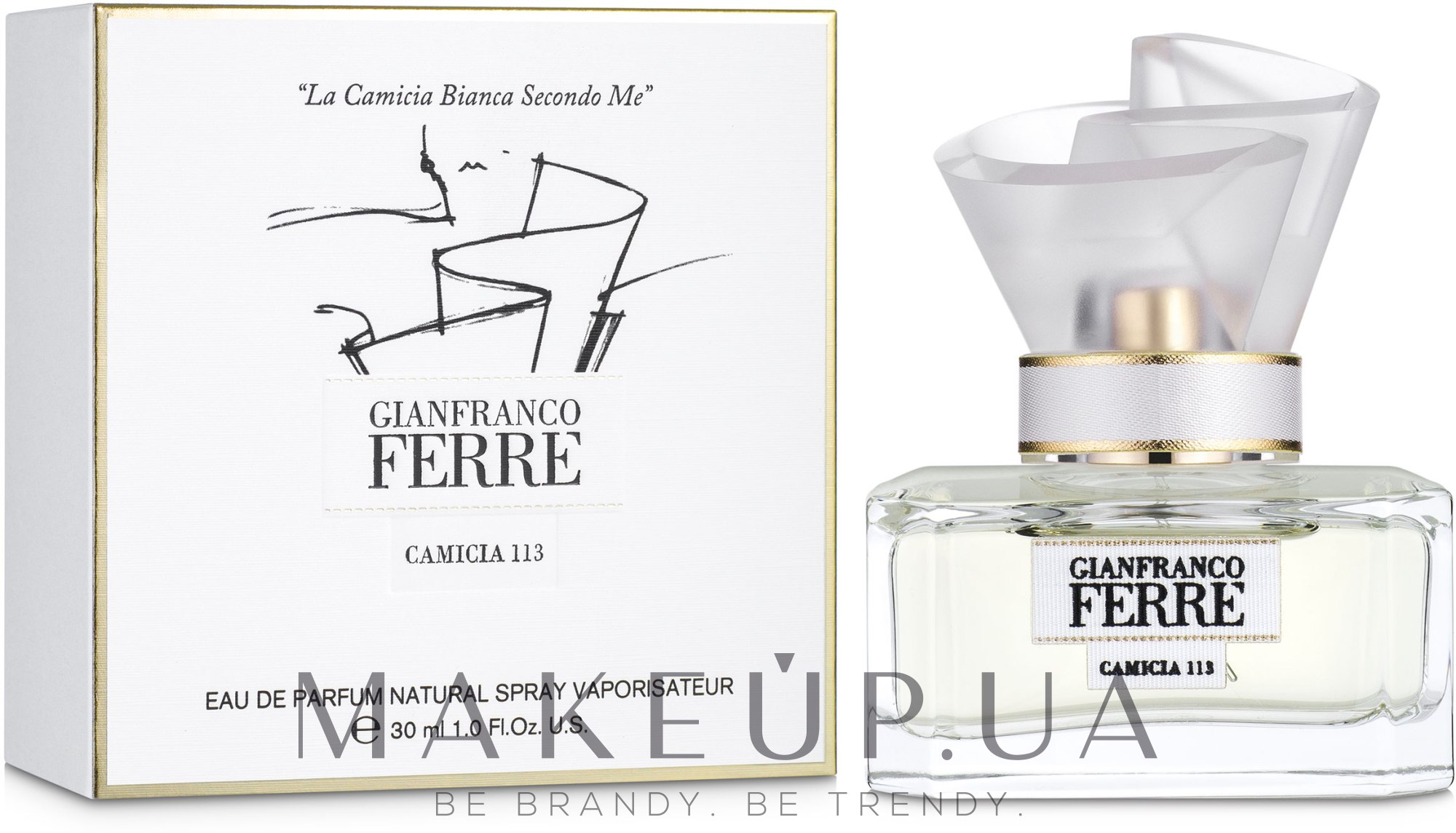 Gianfranco Ferre Camicia 113 - Парфюмированная вода — фото 30ml