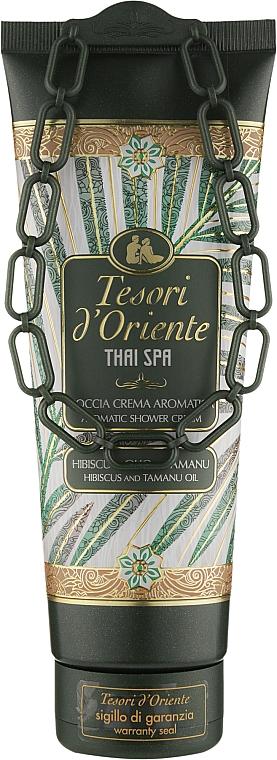 """Гель-крем для душа """"Гибискус и масло таману"""" - Tesori d`Oriente Thai Spa"""