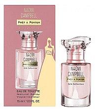 Духи, Парфюмерия, косметика Naomi Campbell Pret a Porter Silk Collection - Туалетная вода (мини)
