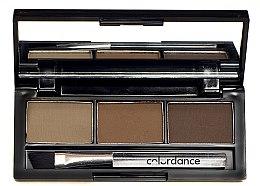 Парфумерія, косметика Набір тіней для брів - Colordance Eyebrow Set