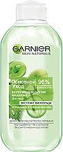 Парфумерія, косметика Молочко для зняття макіяжу для нормальної і змішаної шкіри Основний Догляд - Garnier Skin Naturals