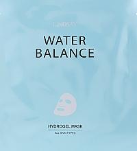 Духи, Парфюмерия, косметика Гидрогелевая маска для лица, восстанавливающая водный баланс - Lindsay Water Balance Hydrogel Mask All Skin Types