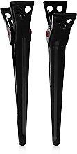 Духи, Парфюмерия, косметика Зажим для волос M, 70мм, черный - Y.S.Park Professional Medium Clips