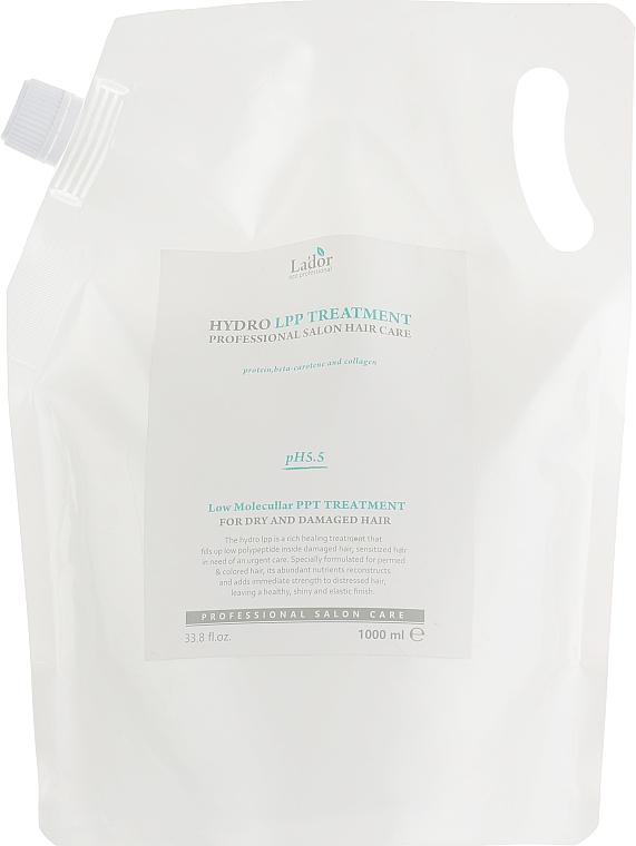 Протеиновая маска для поврежденных волос - La'dor Eco Hydro LPP Treatment — фото N5