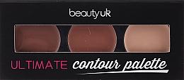 Духи, Парфюмерия, косметика Палетка для контуринга - Beauty UK Ultimate Contour Palette