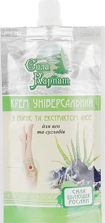 """Универсальный крем для вен и суставов """"Сила Карпат"""" - LekoPro (дой-пак)"""