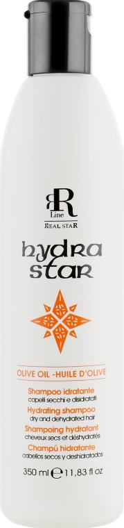 Шампунь для интенсивного увлажнения сухих волос - RR Line Hydra Star