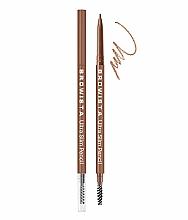 Духи, Парфюмерия, косметика Карандаш для бровей ультратонкий - Belor Design Browista Ultra Slim Pencil