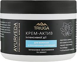 """Крем-актив для волос с секущимися кончиками """"Интенсивное увлажнение и защита"""" - Triuga — фото N1"""