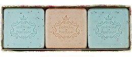 Духи, Парфюмерия, косметика Набор - Essencias De Portugal Aromas Collection Summer Set (soap/3x80g)