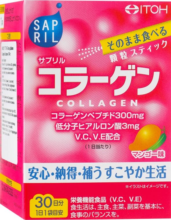 """Пищевая добавка """"Саприл Коллаген"""" со вкусом манго - Itoh Sapril Collagen"""