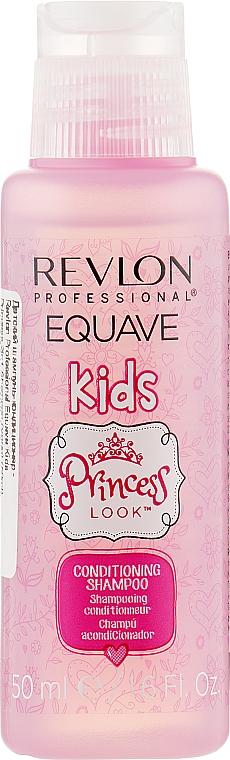 Детский шампунь-кондиционер - Revlon Professional Equave Kids Princess 2in1 Shampoo (мини)