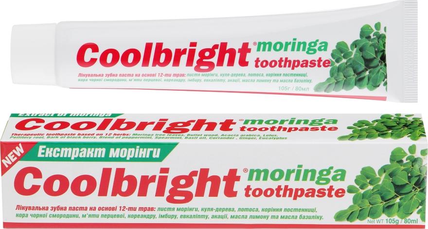 """Лечебная зубная паста """"Экстракт Моринги"""" - Coolbright Moringa Toothpaste"""