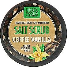 Духи, Парфюмерия, косметика Солевой скраб с кофе и ванилью - Dead Sea Collection Salt Scrub with Coffee Vanilla