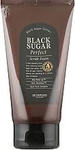 Духи, Парфюмерия, косметика Пенка-скраб с экстрактом черного сахара - SkinFood Black Sugar Perfect Scrub Foam