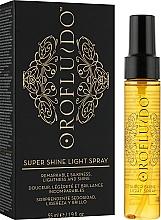 Духи, Парфюмерия, косметика Спрей для блеска волос - Orofluido Super Shine Light Spray