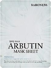 Духи, Парфюмерия, косметика Тканевая маска с арбутином - Beauadd Baroness Mask Sheet Arbutin