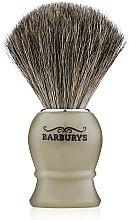 Духи, Парфюмерия, косметика Кисть для бритья - Barburys Shaving Brush Grey Horn