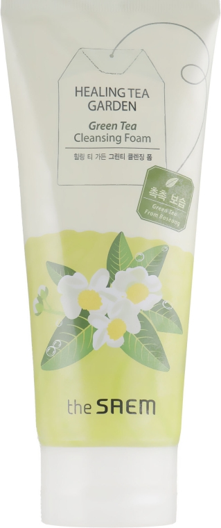 Пенка для умывания - The Saem Healing Tea Garden Green Tea Cleansing Foam