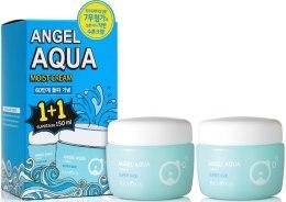 Духи, Парфюмерия, косметика Набір 1+1 - Beyond Angel Aqua Cream Set (f/cr/150ml + f/cr/150ml)
