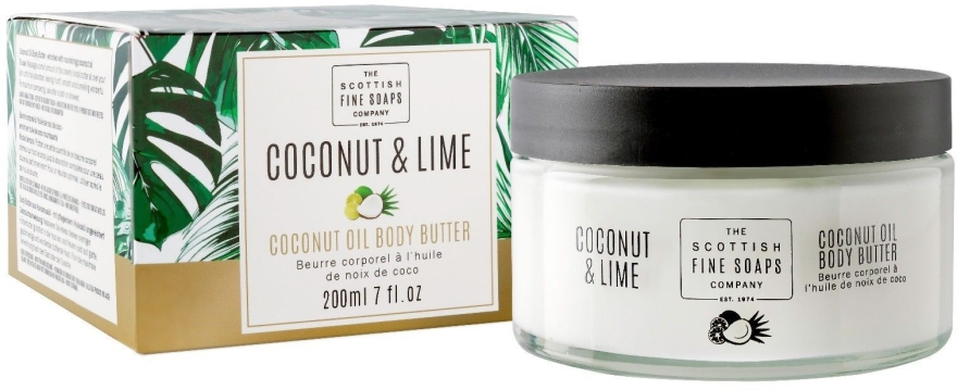 Крем-масло для тела - Scottish Fine Soaps Coconut & Lime Body Butter