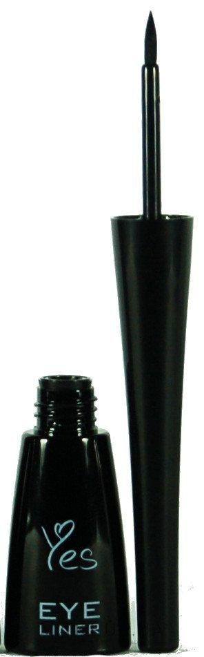Подводка для глаз - Yes Eye Liner — фото Black
