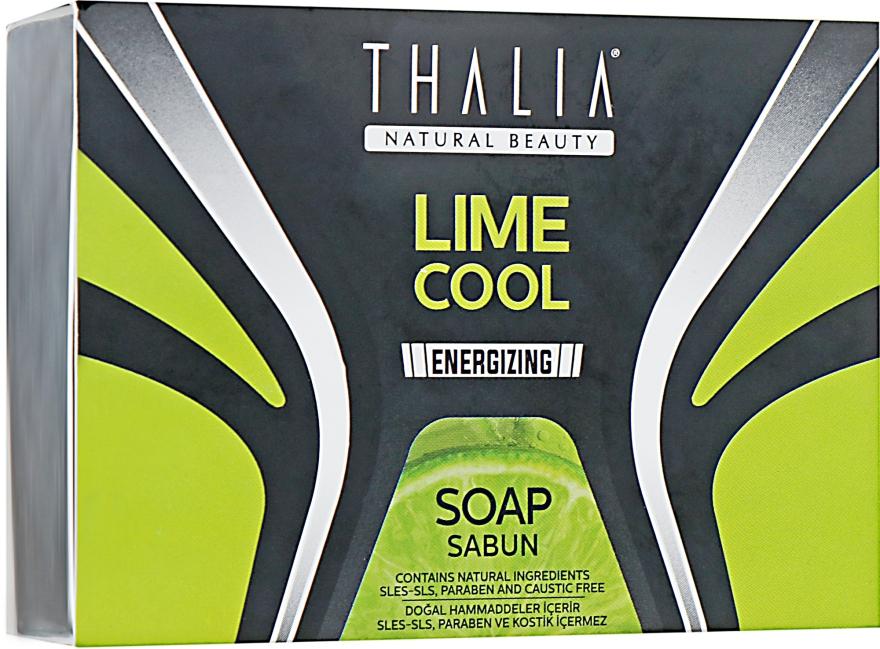 """Натуральное мыло для мужчин """"Лайм"""" - Thalia Lime Cool Soap"""