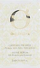 Флюїд Рідкі кристали з протеїнами шовку - Barex Italiana Olioseta Cristalli Liquidi (міні) — фото N1