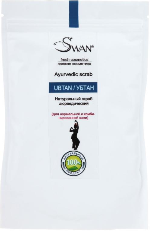 Натуральный скраб для нормальной и комбинированной кожи - Swan Ubtan Ayurvedic Scrab