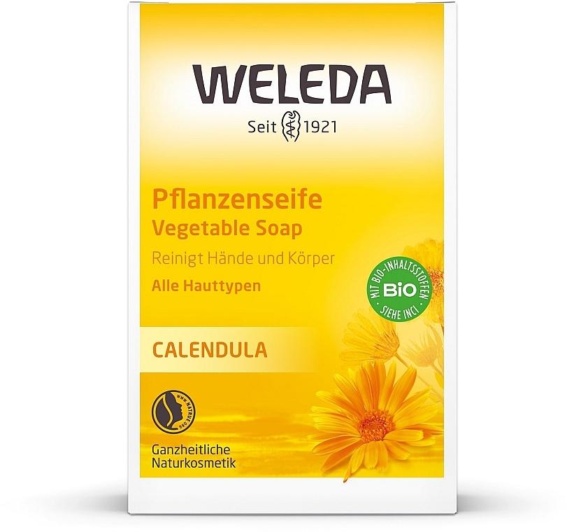 Растительное детское мыло - Weleda Calendula Pflanzenseife
