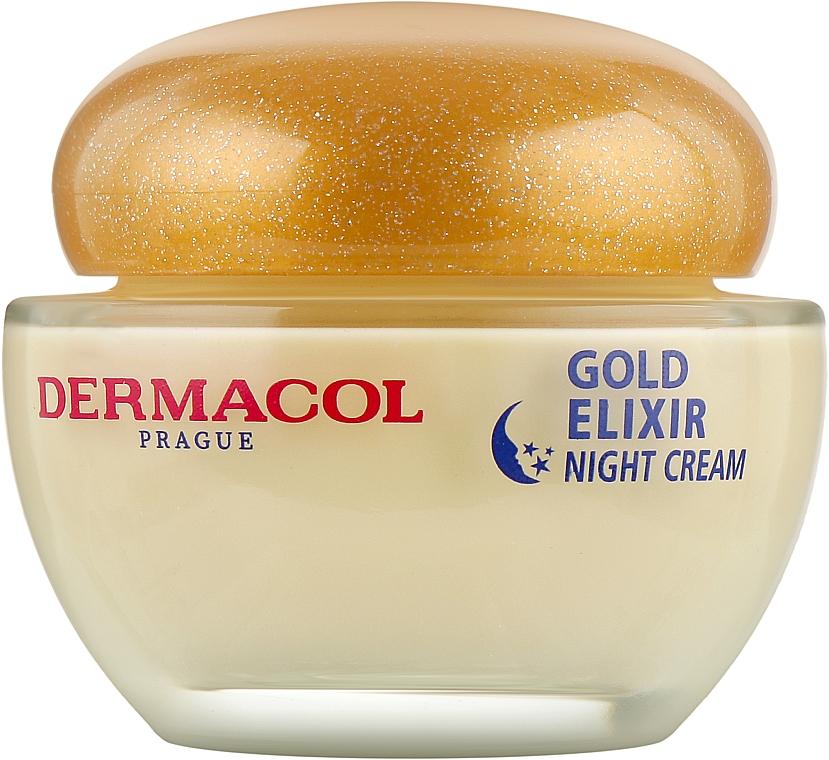 Крем ночной омолаживающий - Dermacol Gold Elixir Rejuvenating Caviar Night Cream