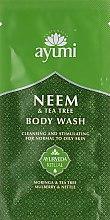 Духи, Парфюмерия, косметика Гель для душа - Ayumi Neem & Tea Tree Body Wash (пробник)