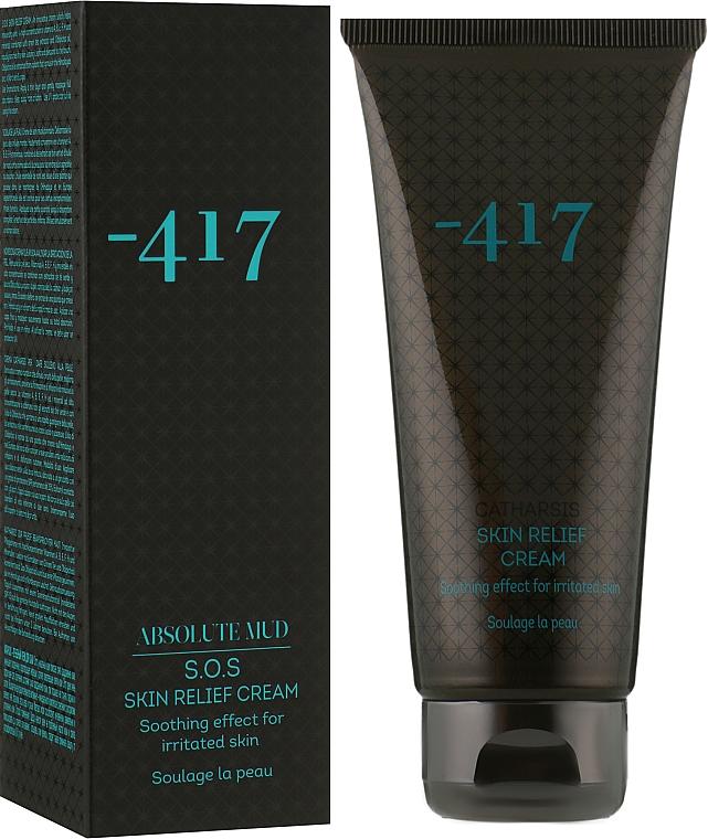 Крем успокаивающий для раздраженной, поврежденной и проблемной кожи лица и тела - -417 Absolute Mud S.O.S. Skin Relief Cream