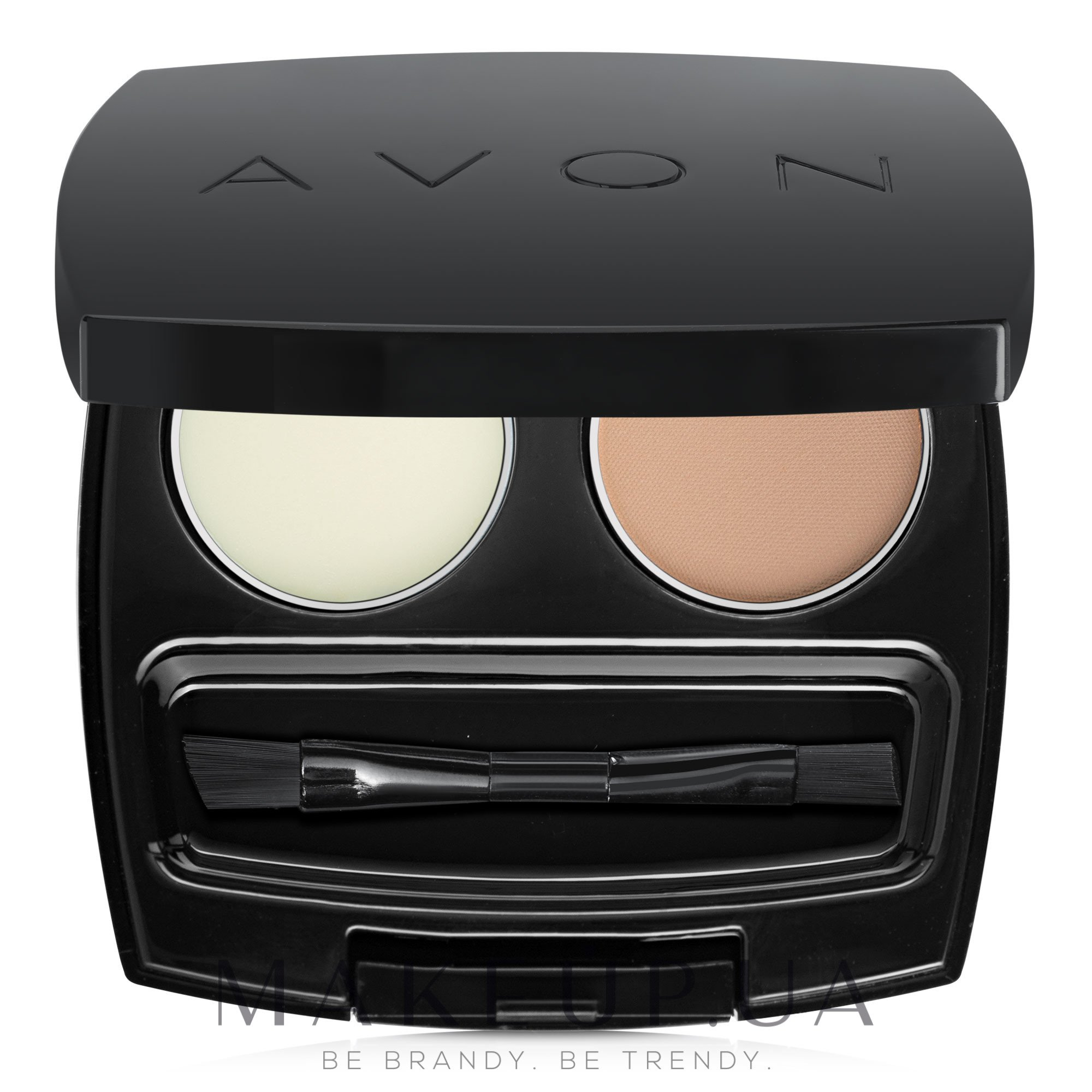 "Косметический набор для бровей ""Совершенство"" - Avon Perfect Eyebrow Kit — фото Blonde"