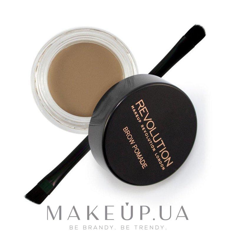 Помада для бровей - Makeup Revolution Brow Pomade — фото Blonde