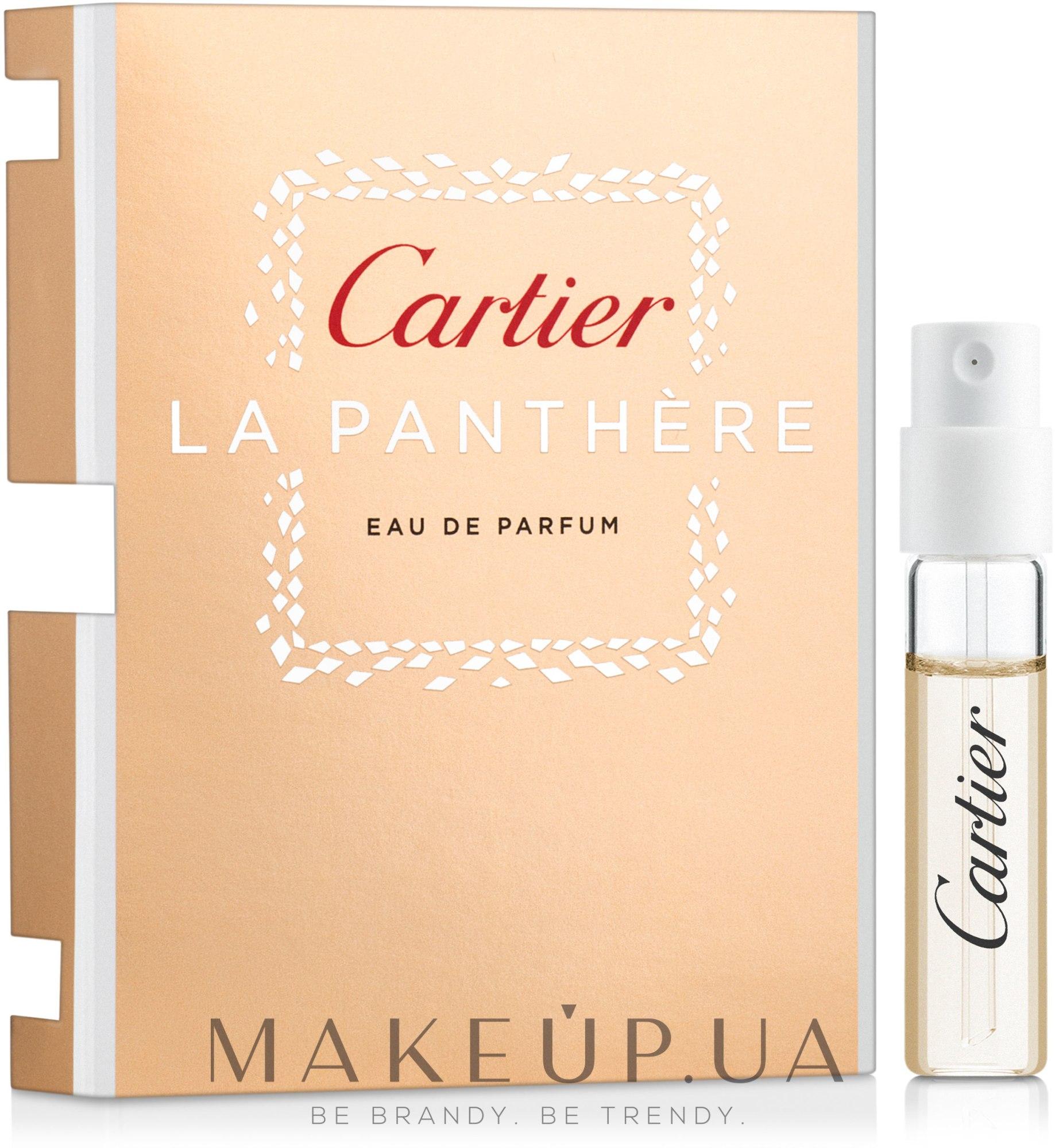 Cartier La Panthere - Парфумована Вода (пробник) — фото 1.5ml