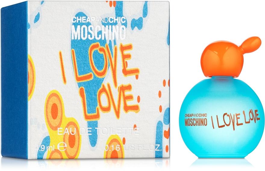 Moschino I Love Love - Туалетная вода (мини)