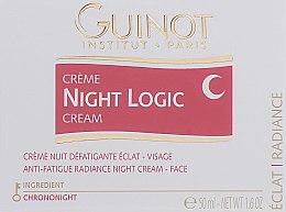 Духи, Парфюмерия, косметика Освежающий ночной крем для сияния кожи - Guinot Night Logic Cream