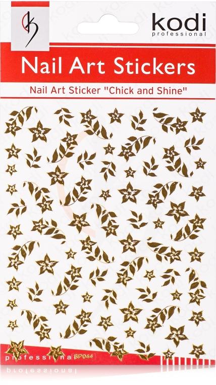 Наклейки для дизайна ногтей - Kodi Professional Nail Art Stickers SP044