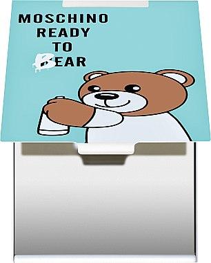 "Зеркало прямоугольное ""Moschino Ready To Bear"" бирюзовое - Rapira — фото N2"