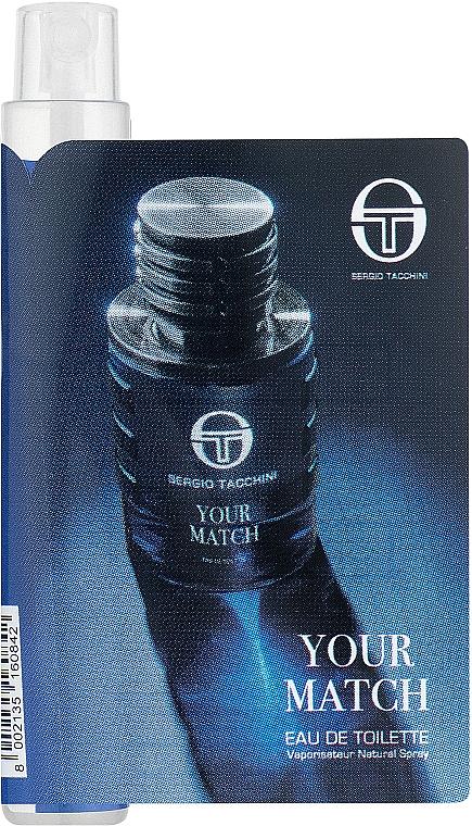 Sergio Tacchini Your Match - Туалетная вода (пробник)