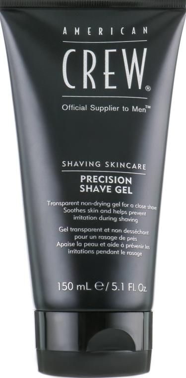 Гель для точного бритья - American Crew Shaving Skincare Precision Shave Gel