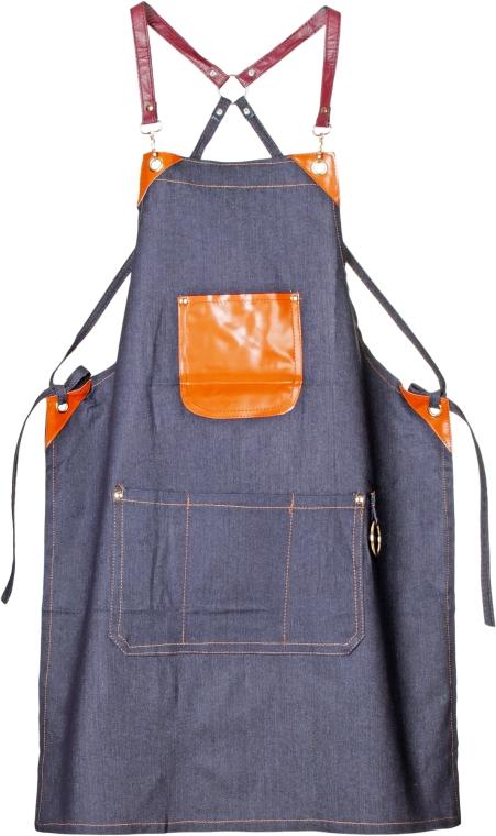 Фартук, 905072-1C, джинсовый - SPL