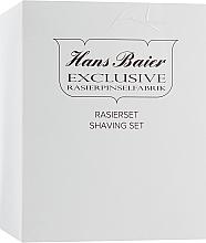Духи, Парфюмерия, косметика Набор с помазком, 10014-81 - Hans Baier (brush/1pcs + box/1pcs)