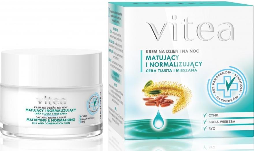 "Крем для лица ""Матирующий и нормальзующий"" - Vitea Mattifying And Normalising Face Cream"