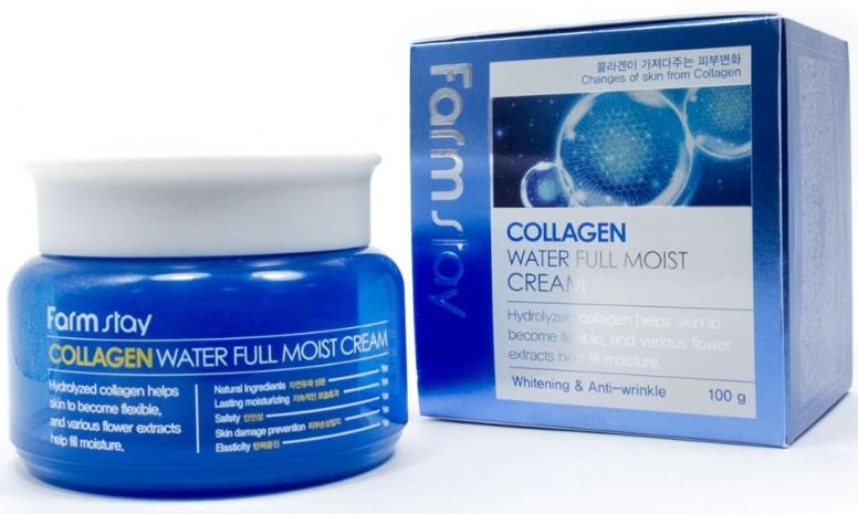 Увлажняющий крем с коллагеном - FarmStay Collagen Water Full Moist Cream