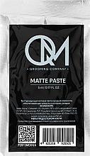 Парфумерія, косметика Матова паста для укладання волосся - QM Matte Paste (пробник)