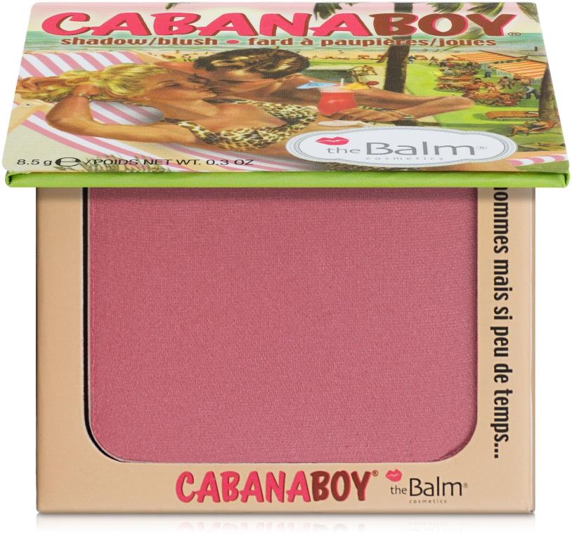 Тени-румяна - theBalm Shadow-Blush Cabana Boy