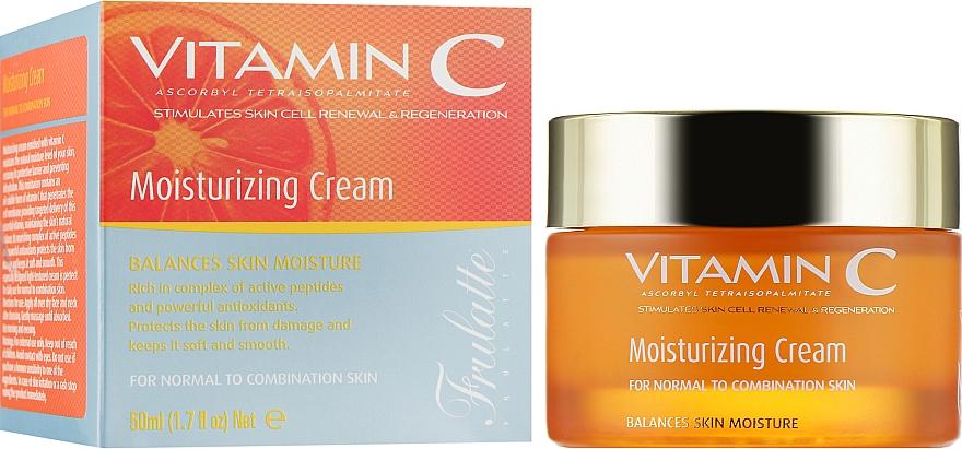 Увлажняющий крем с витамином С - Frulatte Vitamin C Moisturizing Cream